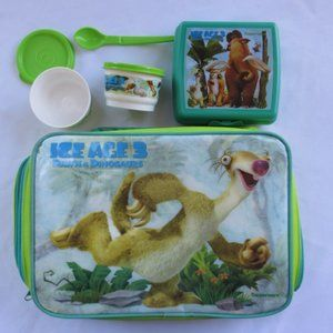 Tupperware Ice Age 3 Dawn of the Dinosaur Lunch Ba